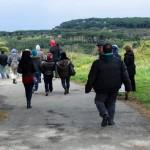 Passeggiata verso i campi